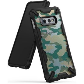 Husa Samsung Galaxy S10e  Ringke FUSION X Design Verde Camuflaj