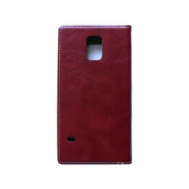 Husa Samsung Galaxy S5 Arium Buffalo Flip  View rosu