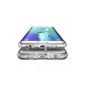 Husa Samsung Galaxy S6 Edge Plus Ringke FUSION Smoke Black + BONUS folie protectie display Ringke