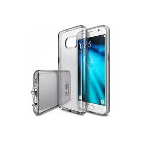 Husa Samsung Galaxy S7 Ringke AIR SMOKE BLACK + BONUS folie protectie display Ringke