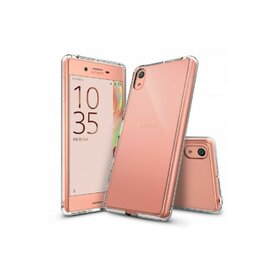 Husa Sony Xperia X Ringke FUSION CRYSTAL CLEAR + bonus folie Ringke Invisible Screen Defender