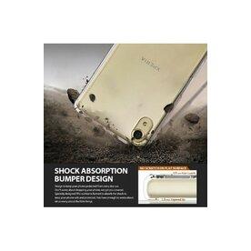 Husa Sony Xperia X Ringke FUSION SMOKE BLACK + bonus folie Ringke Invisible Screen Defender