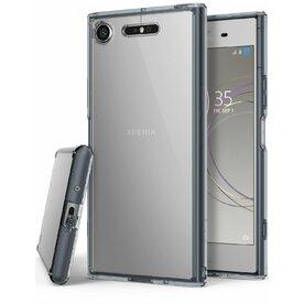 Husa Sony Xperia XZ1 Ringke FUSION SMOKE BLACK
