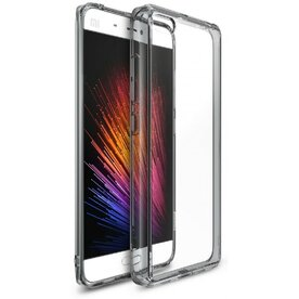 Husa Xiaomi Mi 5 Ringke FUSION SMOKE BLACK + folie Ringke cadou