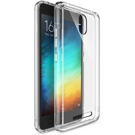 Husa Xiaomi Redmi Note 2 Ringke FUSION CRYSTAL VIEW TRANSPARENT + BONUS folie protectie display