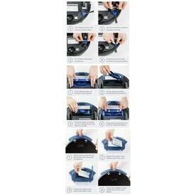 Kit 3 accesorii Originale Aspirator Smart eufy RoboVac, 4x perii laterale, 3x filtre, 1x perie principala