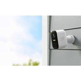 Kit supraveghere video eufyCam 2C Security wireless, HD 1080p, IP67, Nightvision, 3 camere video