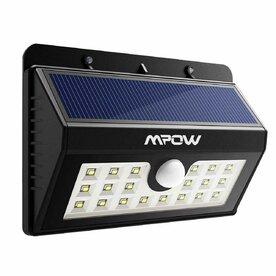 Lampa solara Mpow 3in1 cu 20 leduri si senzori de miscare
