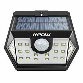 Lampa solara Mpow 3in1 cu 20 leduri si senzori de miscare, protectie IPX6+