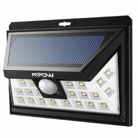 Lampa solara Mpow 3in1 cu 24 leduri si senzori de miscare