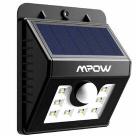Lampa solara Mpow 3in1 cu 8 leduri si senzori de miscare