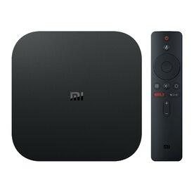 Mediaplayer Xiaomi MI TV Box S, 4K, Voice Control, Negru