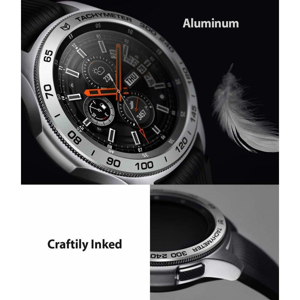 Rama ornamentala Ringke Galaxy Watch 46mm / Galaxy Gear S3 Argintiu