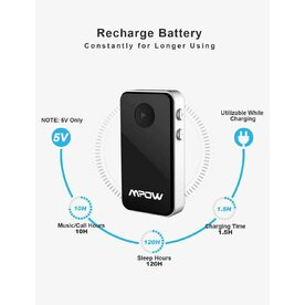 Receiver transmitter 2in1 Bluetooth 4.1 Mpow Streambot Mini