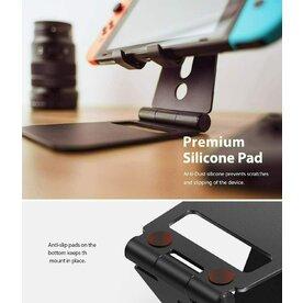 Suport Ringke Super Folding Stand pentru smartphone, tablete, Nintendo Switch, Negru