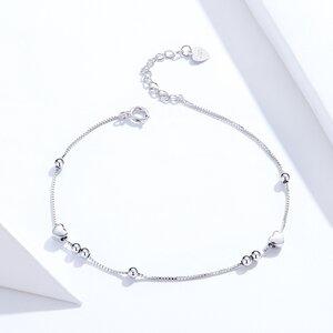 Bratara din argint Stars and Beads