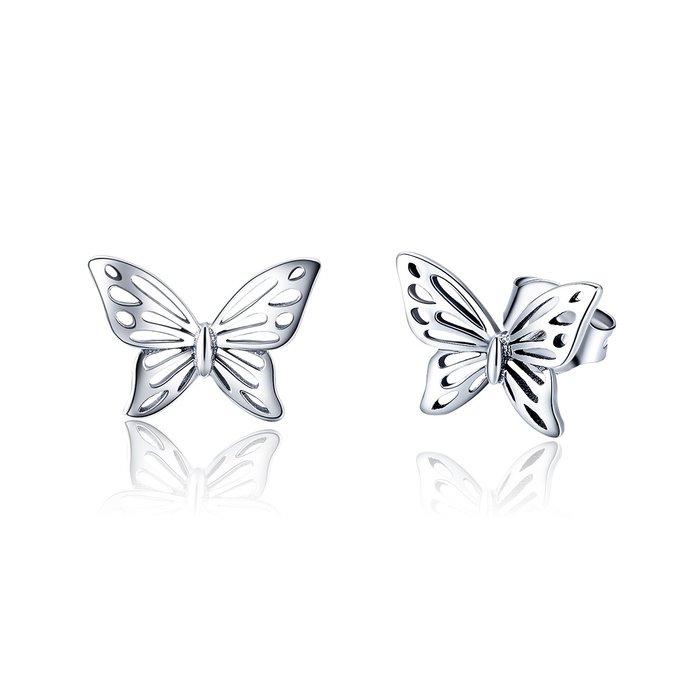 Cercei din argint Beautiful Butterfly poza 2021