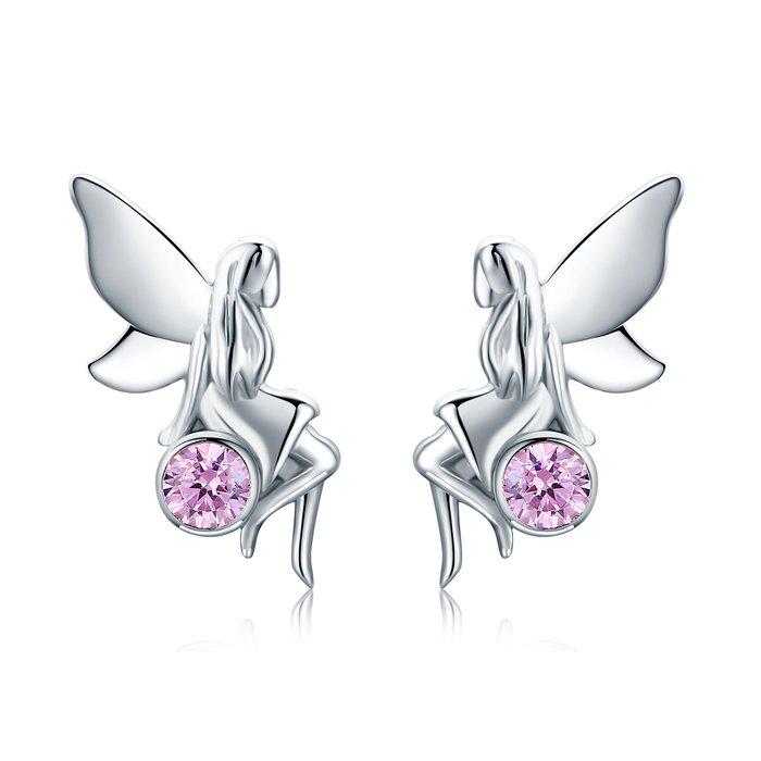 Cercei din argint Crystal Fairy poza 2021