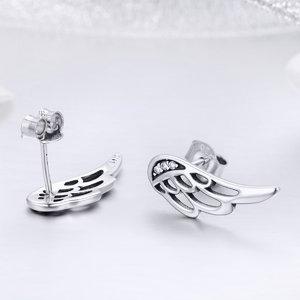 Cercei din argint cu Aripioare
