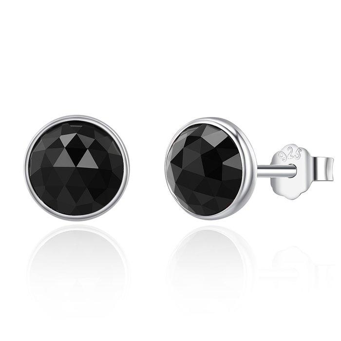 Cercei din argint cu Cristale Negre poza 2021