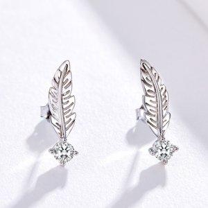 Cercei din argint Fancy Feathers