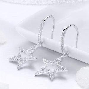 Cercei din argint Fancy Stars