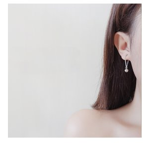 Cercei din argint Fashion Little Dots