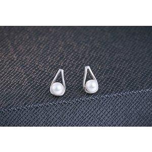 Cercei din argint Fine Pearls