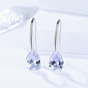 Cercei din argint Ice Crystal Drop