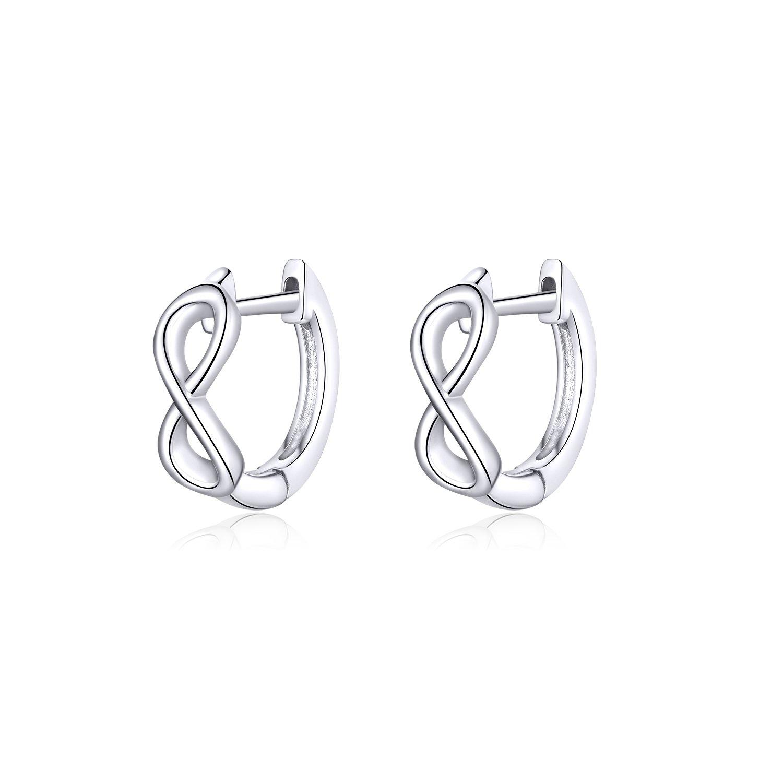 cercei din argint infinite little hoops 67428 4