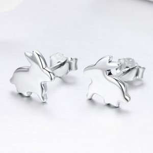 Cercei din argint Little Rabbit