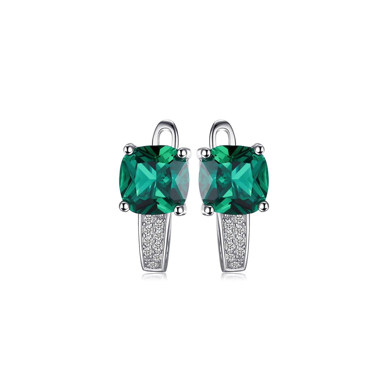 Cercei din argint Perfect Emerald poza 2021