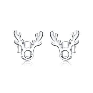 Cercei din argint Silver Little Elk