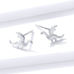 Cercei din argint Small Dinosaurs