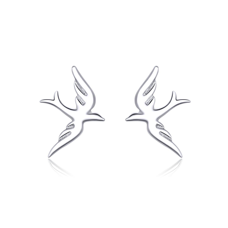 cercei din argint spring little birds 68250 4