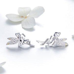 Cercei din argint Sweet Fairies