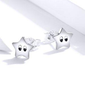 Cercei din argint Twinkle Little Stars