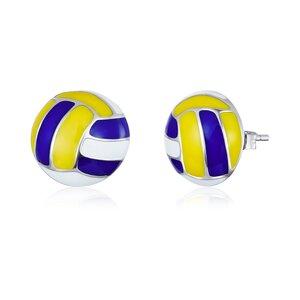 Cercei din argint Volleyball