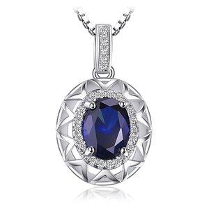 Colier din argint Amazing Sapphire