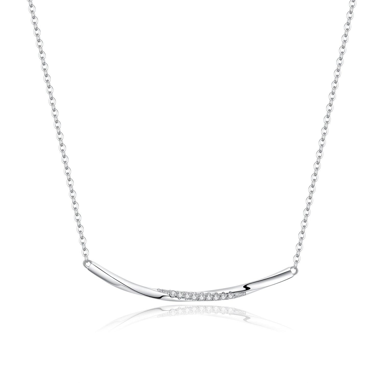 colier din argint crystal twist 67188 4