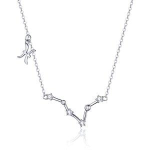 Colier din argint cu Constelatia Pesti silver