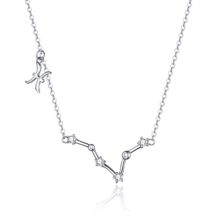 Colier din argint cu Constelatia Pesti silver poza 2021