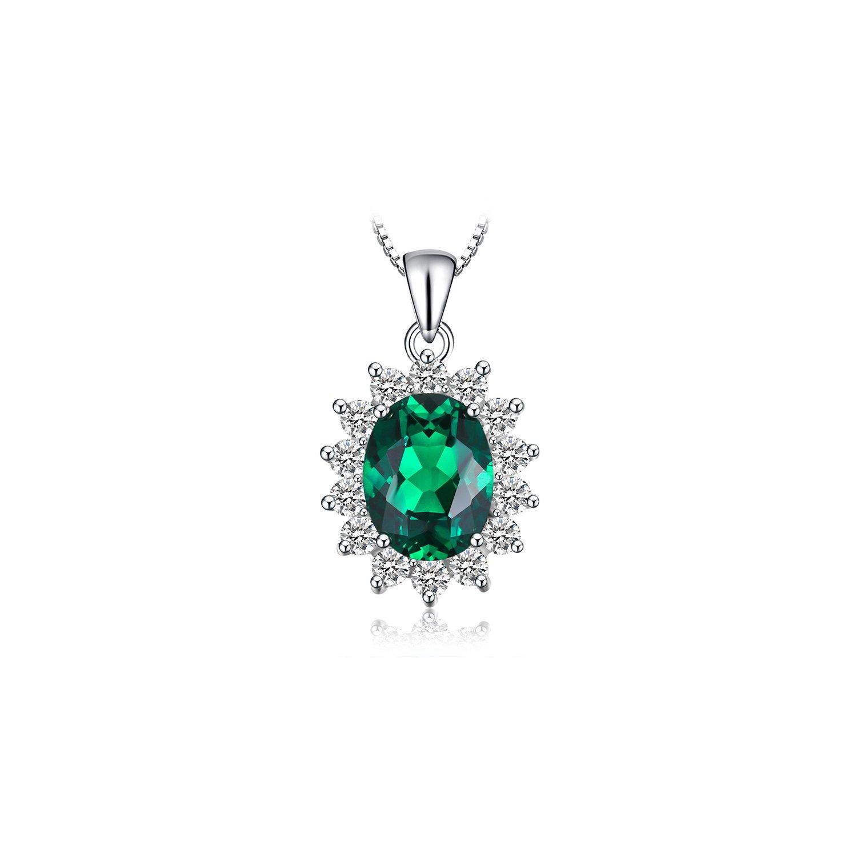 Colier din argint Elegant Emerald poza 2021