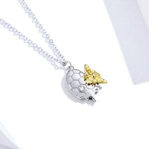 Colier din argint Funny Bee