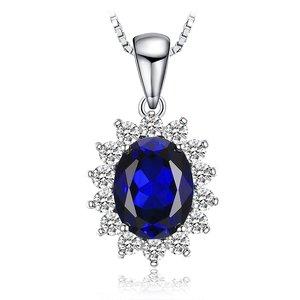 Colier din argint Kate's Elegant Sapphire
