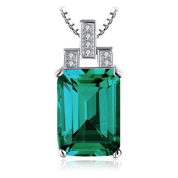 Colier din argint Royal Emerald