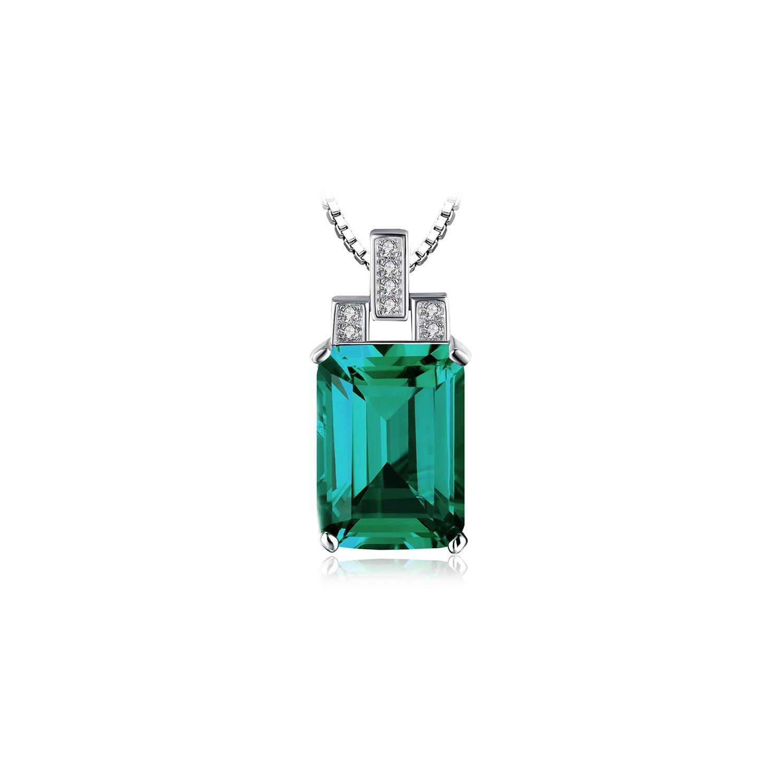 Colier din argint Royal Emerald poza 2021