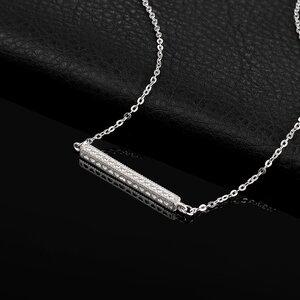 Colier din argint Silver Bar