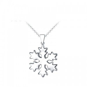 Colier din argint Silver Snowflake