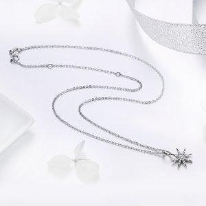 Colier din argint Unique Sparkling Star